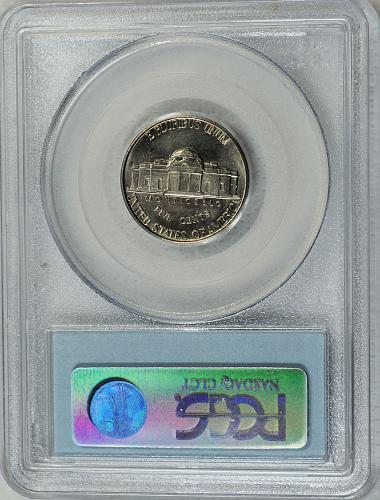 1939 Jefferson Nickel (Reverse of 1940)