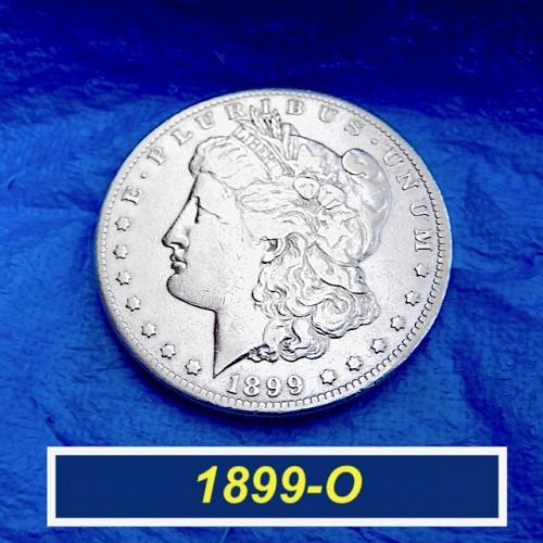 1899-O Morgan Silver Dollar  ⭐️  Circulated  ⭐️    (5699)  ⭐️