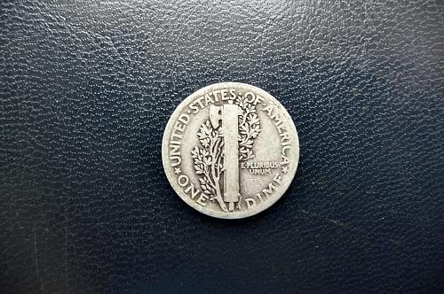 1918 Mercury Dime