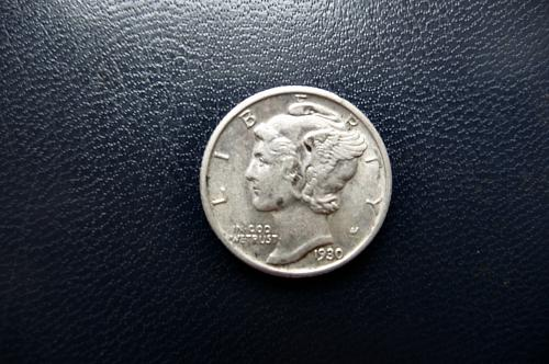 1930 Mercury Dime