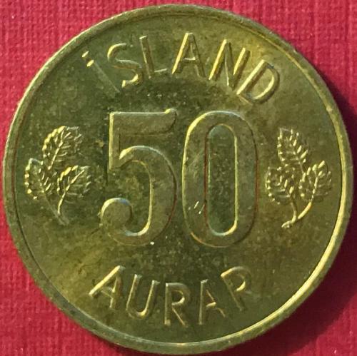 Iceland - 1973 - 50 Aurar [#4]