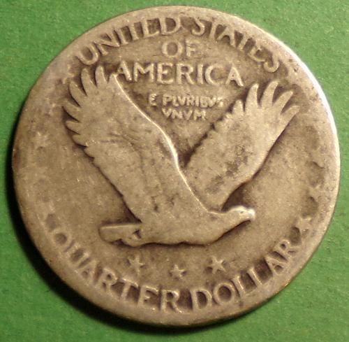 1929 P Standing Liberty Quarter