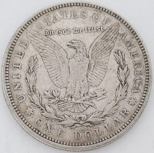 1921 Morgan Silver Dollar US Coin $1