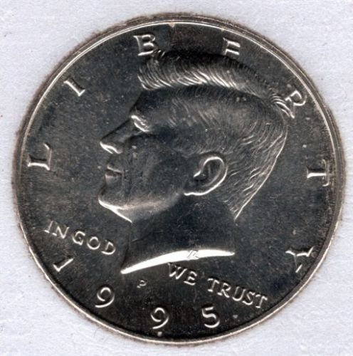 1995 P Kennedy Half Dollars -#4d1