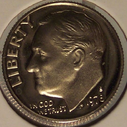 1978-S Deep Cameo Proof Roosevelt Clad Dime #0547