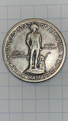 1925 Lexington-Concord Commemorative Half Dollar