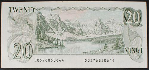 Canada P93a 20 Dollars VF+