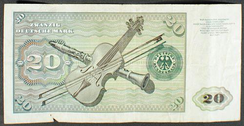 Germany/Fed. Rep. P32a 20 Deutschemarks Fine