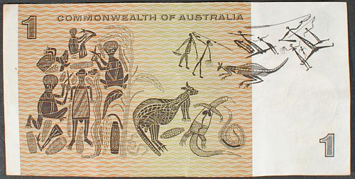 Australia P37c Dollar VF+