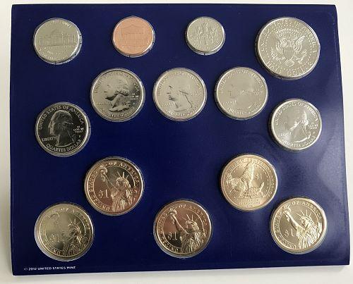 2013 P & D US Uncirculated Mint Set (no box) (0416-1)