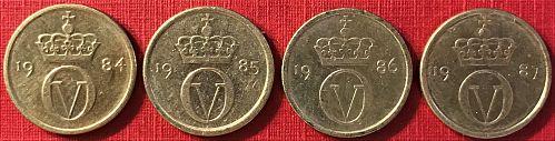 Norway - 1984-1987 - 10 Ore