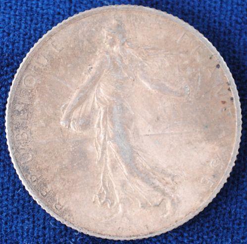 1916 France 2 Francs XF