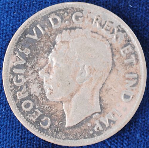 1941 Canada 50 Cents VF+