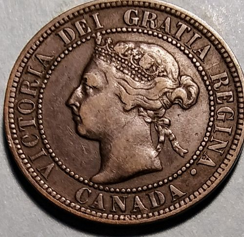 1896 CANADA LARGE CENT