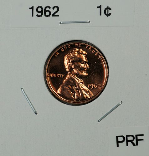1962 Lincoln Memorial Cent **Proof**