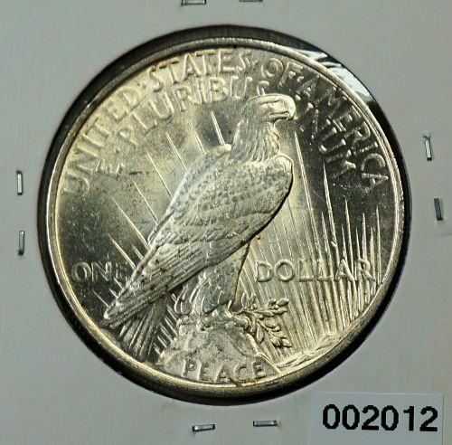 1923 Peace 1$
