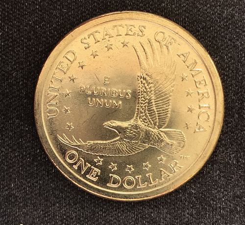 2005 D Native American & Sacagawea Dollars--From a Mint Roll  (0418-4)