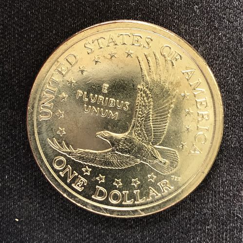 2006 D Native American & Sacagawea Dollars--From a Mint Roll  (0418-10)
