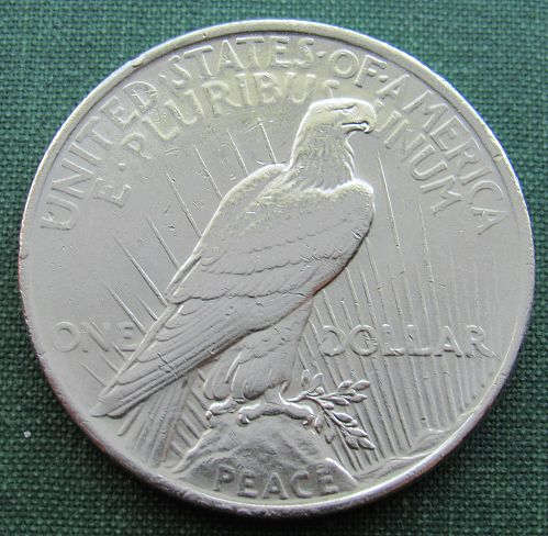 1923P Peace Dollar