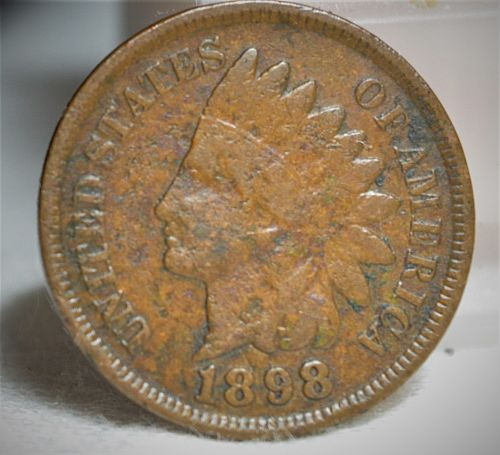 1898 Indian Head Cent - VG