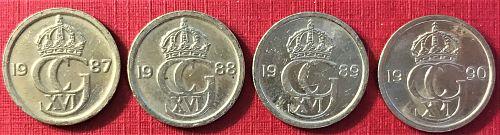 Sweden - 1987-1990 - 10 Ore [#2]