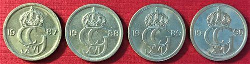 Sweden - 1987-1990 - 10 Ore [#3]