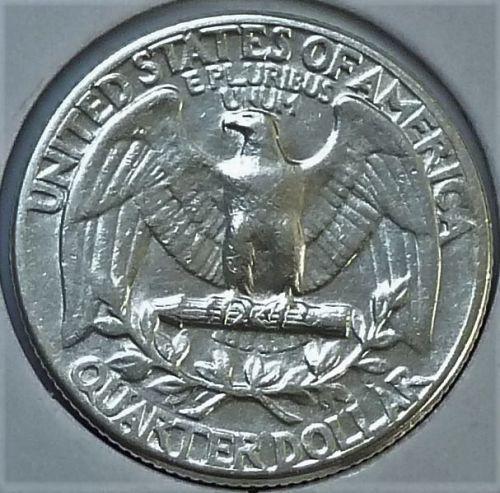1940-P ABOUT UNCIRCULATED Washington Quarter AU ( T-014)