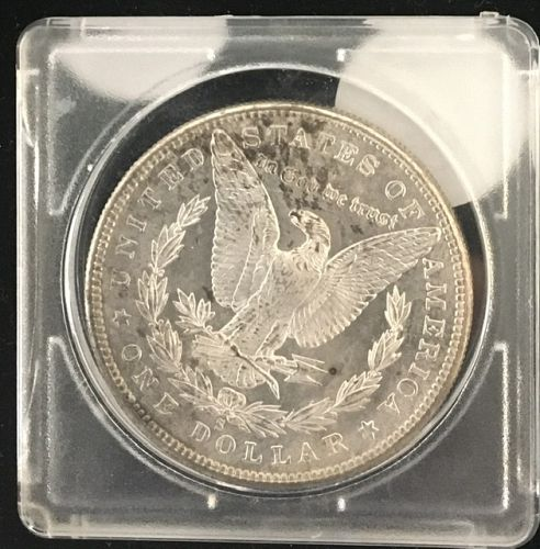 1880-S  Morgan Dollar  MS63