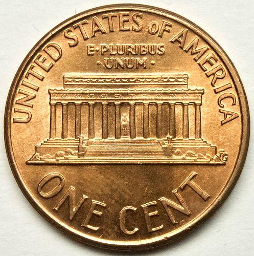 1974 P Lincoln Memorial Cent#10