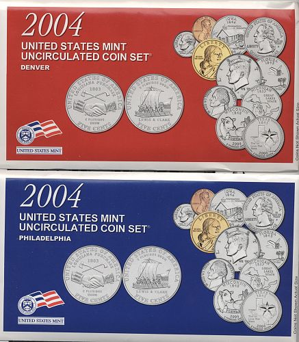 2004 mint set