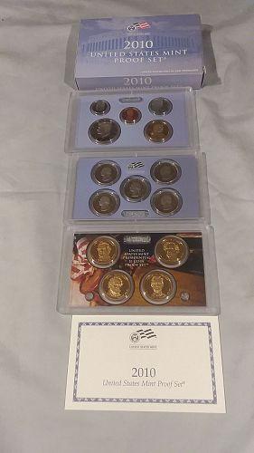 US Mint Proof set, 2010S