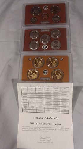 US Mint Proof set, 2011S