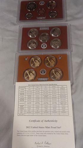 US Mint Proof set, 2012S