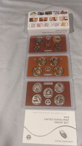 US Mint Proof set, 2015S