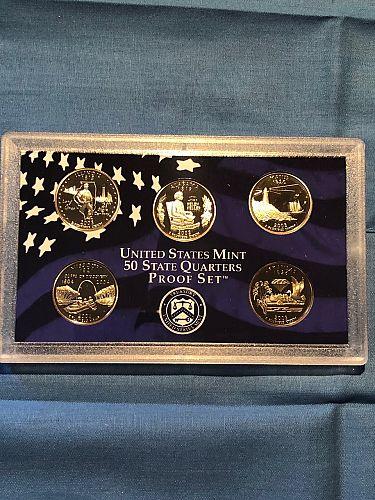 Proof Set; U.S. Mint 5 Quarter 2003