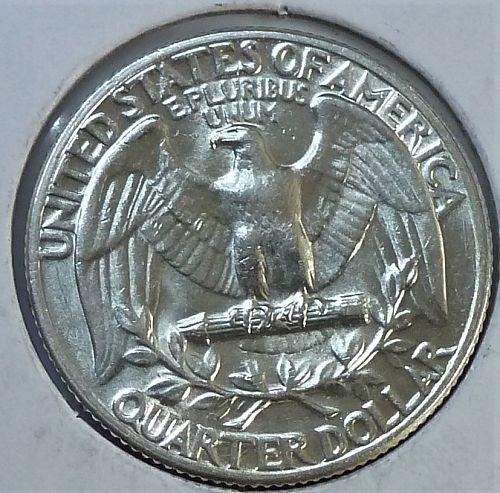 1950-P GEM BRILLIANT UNCIRCULATED Washington Quarter  BU # (T-041)
