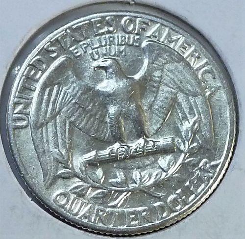 1952-P UNCIRCULATED Washington Quarter  BU # (T-047)