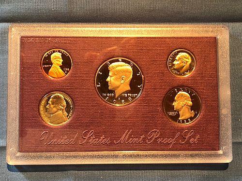 Proof Set; U.S. Mint 1988