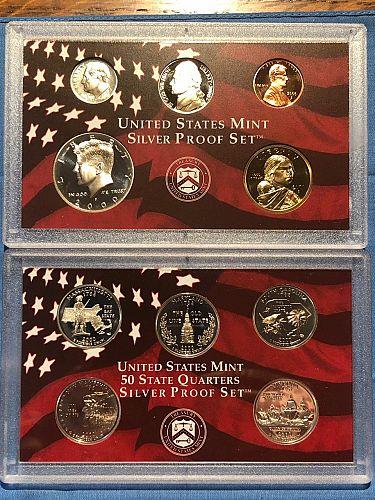 Proof Set; U.S. Mint Silver 2000