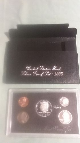 US Mint Silver Proof, 1996