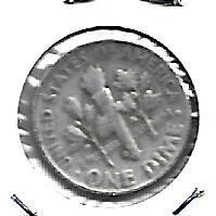 1954  D    ROOSEVELT DIME