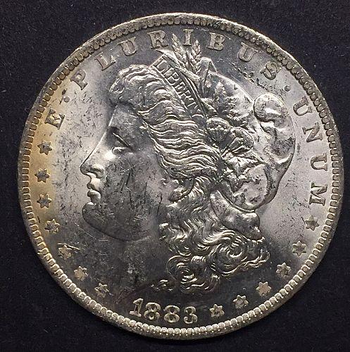 1883-O Morgan Silver Dollar, Uncirculated