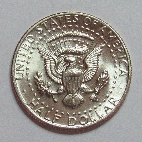 1978 D Kennedy Half Dollar in BU condition