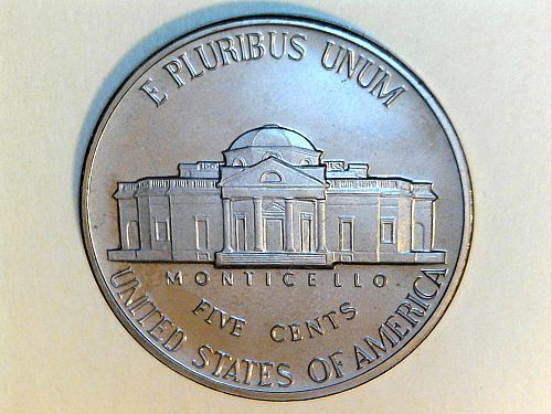 1982 S Proof Jefferson Nickel--has some residue on it (price dropped 7/18)