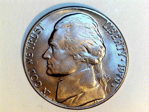 1979 D Jefferson Nickel--BU (price dropped 7/18)