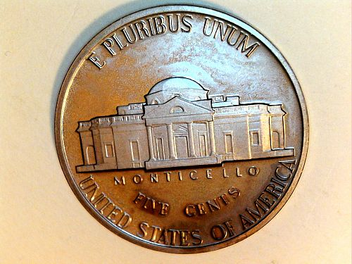 1978 S Proof Jefferson Nickel, has residue (price dropped 7/18)