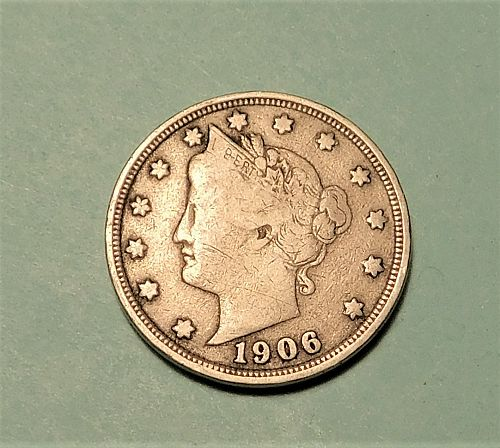 1906 Liberty V Nickel,
