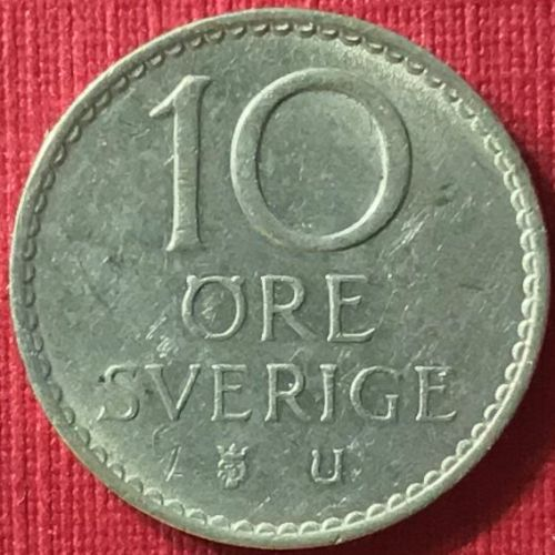 Sweden - 1964 - 10 Ore [#2]