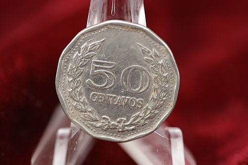 1970 Colombia 50 Centavos