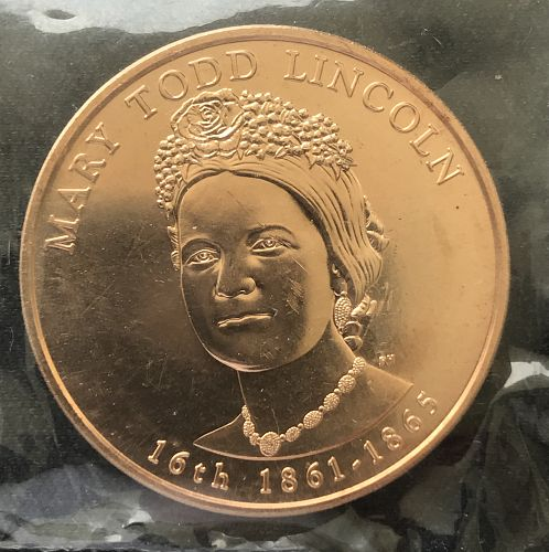2010 US Mint First Spouse Medal--Mary Todd Lincoln--1st Spouse